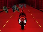 Carrera de Neón 2 3D Moto