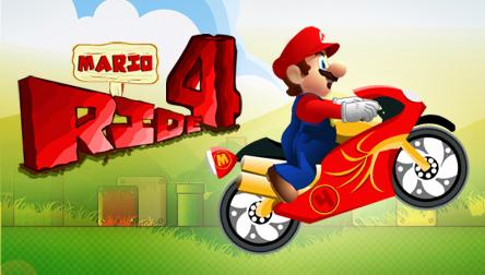 Juego Mario Ride 4