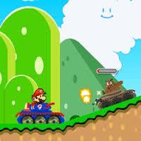 Mario Aventura en Tanque