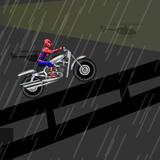 Spiderman Conduciendo por la Ciudad