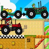 Mario Tractor Drag Race