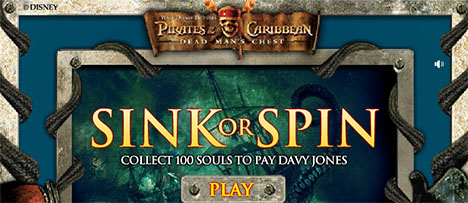 Pirates of the Caribbean: Sink or Spin
